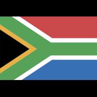 Autocollant Drapeau Afrique Du Sud