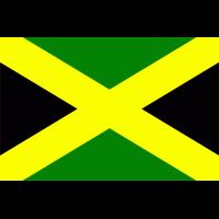 Autocollant Drapeau Jamaïque 1