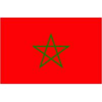 Autocollant Drapeau Maroc