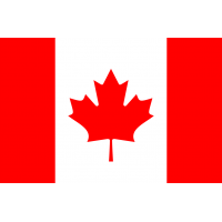 Autocollant Drapeau Canada 1