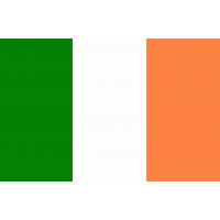 Autocollant Drapeau Ireland