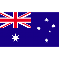 Autocollant Drapeau Australie 1