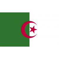 Autocollant Drapeau Algérie