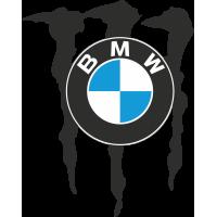 Autocollant Bmw Monster