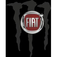 Autocollant Fiat Monster