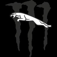 Autocollant Jaguar Monster