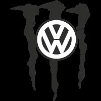 Autocollant Volkswagen Monster