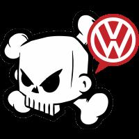 Autocollant Dc Shoes Volkswagen