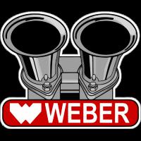 Sticker WEBER CARBURATEUR