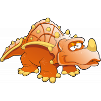 Autocollant Dinosaure Enfant 2