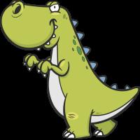 Autocollant Dinosaure Enfant 15