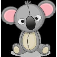 Autocollant Mignon Koala
