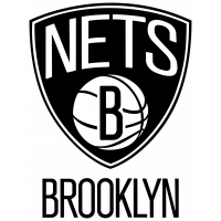 Autocollant Logo Nba Team Nets Brooklyn