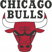 Autocollant Logo Nba Team Chicago Bulls