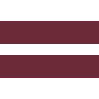 Autocollant Drapeau Lettonie