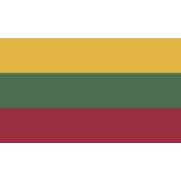 Autocollant Drapeau Lituanie