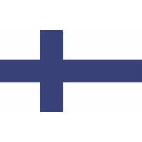 Autocollant Drapeau  Finlande 1