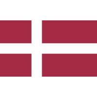 Autocollant Drapeau Danemark