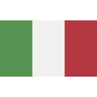 Autocollant Drapeau Italie 1