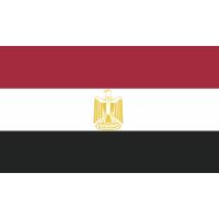 Autocollant Drapeau Egypte