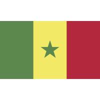 Autocollant Drapeau Sénégal