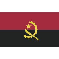 Autocollant Drapeau Angola