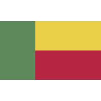 Autocollant Drapeau Benin