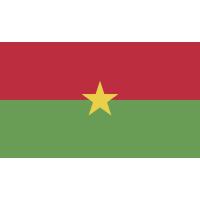 Autocollant Drapeau Burkina Faso