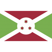 Autocollant Drapeau Burundi