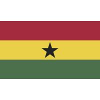 Autocollant Drapeau Ghana