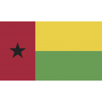 Autocollant Drapeau Guinée Bissau