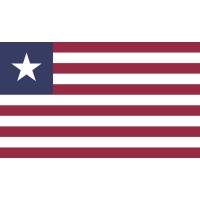 Autocollant Drapeau Liberia