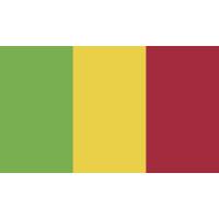 Autocollant Drapeau Mali