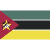 Autocollant Drapeau Mozambique