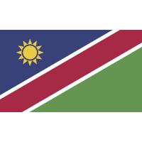Autocollant Drapeau Namibia