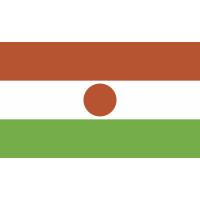 Autocollant Drapeau Niger