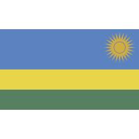 Autocollant Drapeau Rwanda