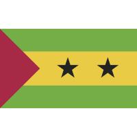 Autocollant Drapeau Sao Tomé