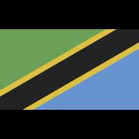 Autocollant Drapeau Tanzanie