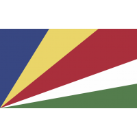 Autocollant Drapeau Seychelles