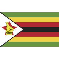 Autocollant Drapeau Zimbabwe
