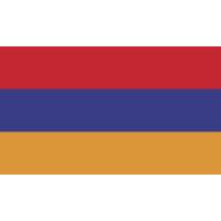 Autocollant Drapeau Arménie