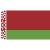 Autocollant Drapeau Biélorussie