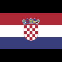 Autocollant Drapeau Croatie