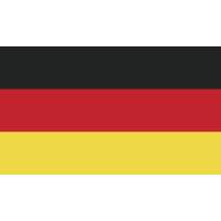 Autocollant Drapeau Allemagne 1