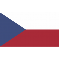 Autocollant Drapeau République Tchèque