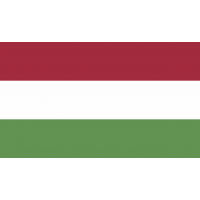 Autocollant Drapeau Hongrie