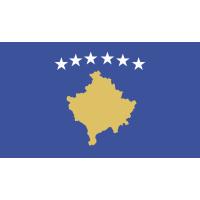 Autocollant Drapeau Kosovo
