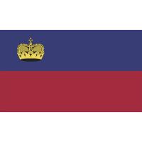 Autocollant Drapeau Liechtenstein