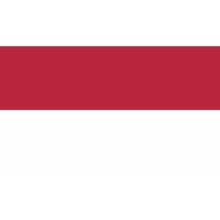 Autocollant Drapeau Monaco